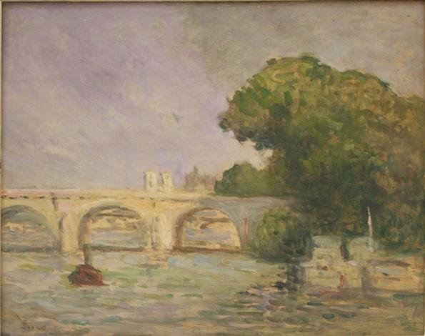 le pont neuf by maximilien luce