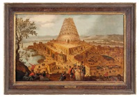 la torre di babele by frans francken the younger