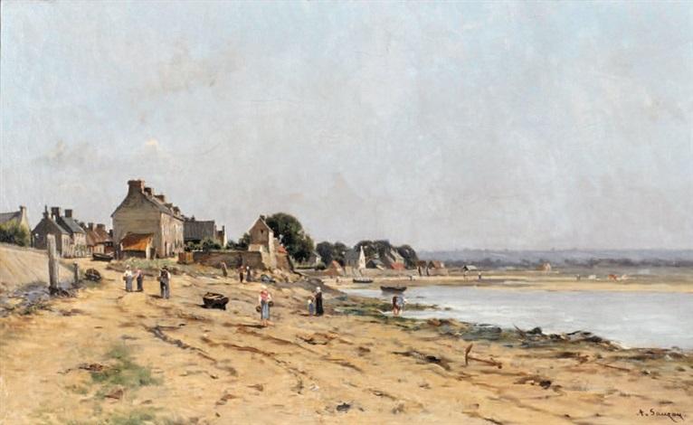 plage normande by adrien jacques sauzay