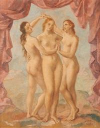 les trois grâces by louis buisseret
