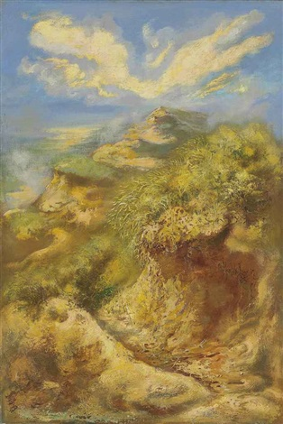 cape cod dunes by george grosz