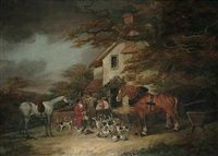 the return from hunting by dean wolstenholme the elder