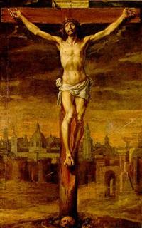 cristo crucificado by antonio de pereda y saldago