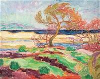 paysage du midi by jean misceslas peské