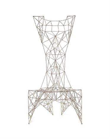 a pylon chair by tom dixon