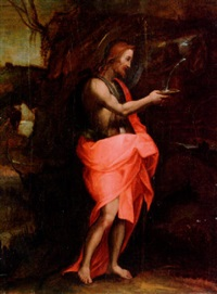 christ in the wilderness by bacchiacca