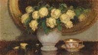 gelbe rosen by alfons karpinski