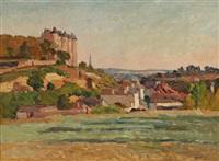 le château de luynes by abel louis alphonse lauvray