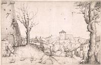ein burghof by augustin hirschvogel