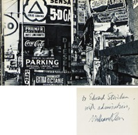 life is good & good for you in new york. trance witness revels (book w/188 works, quarto, first ed.) by william klein