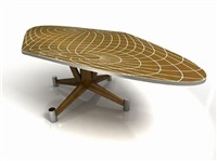 sphube, table by fred baier