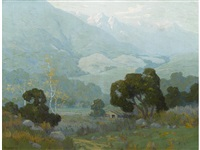 view from the arroyo seco by elmer wachtel