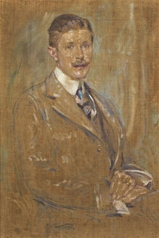 portrait of a man by robert reid