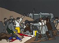 the third of may (after goya) by robert ballagh