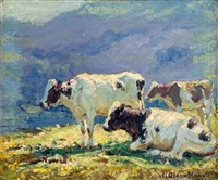 cows by george glenn newell