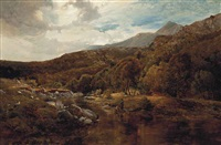 a welsh valley by sidney richard percy