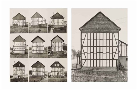 framework houses 2 works by bernd and hilla becher