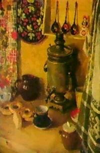 a la cuisine, 1973 by dmitri i. shmelyov