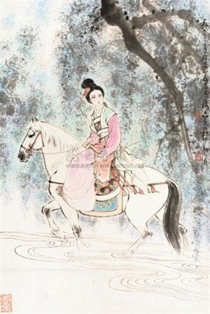 仕女 by gu bingxin