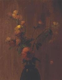etude de fleurs by leon dabo
