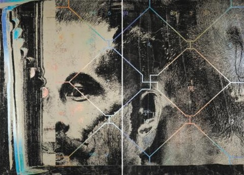 untitled diptych by justin ponmany