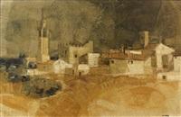 le village medieval, suñol by simon alvar
