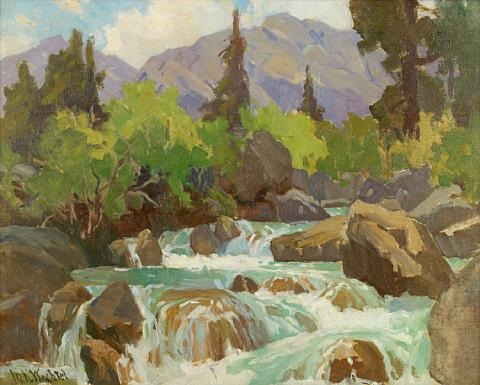 sierra spring runoff by marion kavanaugh wachtel