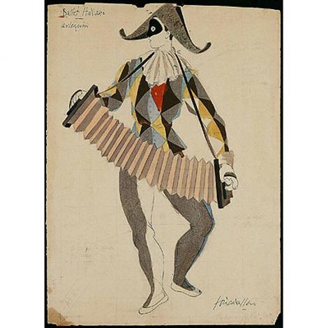 ballet italiano arlequín by josé luis caballero
