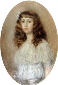 portrait de jeune fille by abel faivre