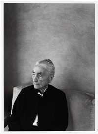 portrait, georgia o'keeffe by william clift