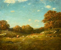 autumn in new england by samuel lancaster gerry