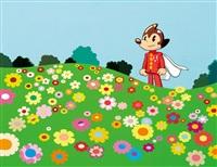 flower garden by lee dongi
