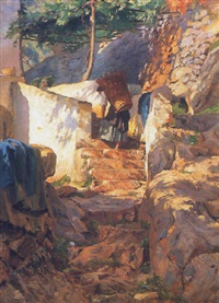 mediterrán falu by robert nadler