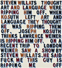 steven willats thought by bob and roberta smith