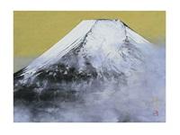 mount fuji by chuichi konno