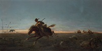 pony express by jules emile saintin