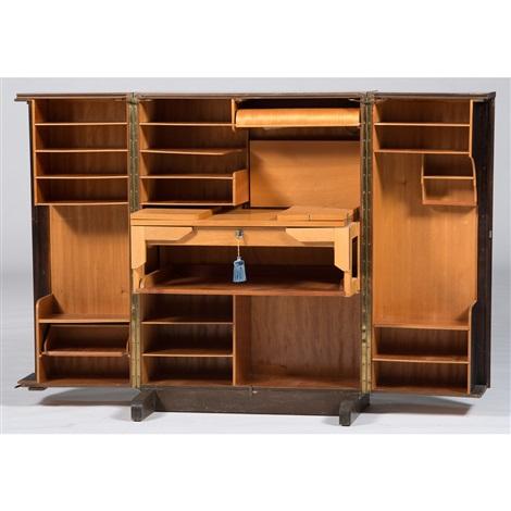 Mid Century Modern Retractable Desk By Schreibmayr Büromöbel