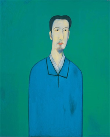 the man in the blue shirt by chiu ya tsai