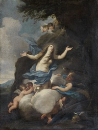 the apotheosis of mary magdalen by luigi garzi