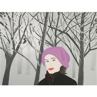 january 7 by alex katz