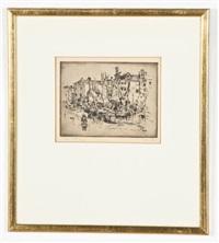 canal s. pietro, venice by john marin