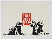 sale ends by banksy