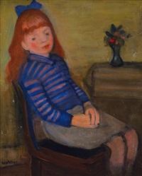 dívka u stolu by georges (karpeles) kars