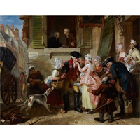 la fleur's departure from montreuil by edward matthew ward