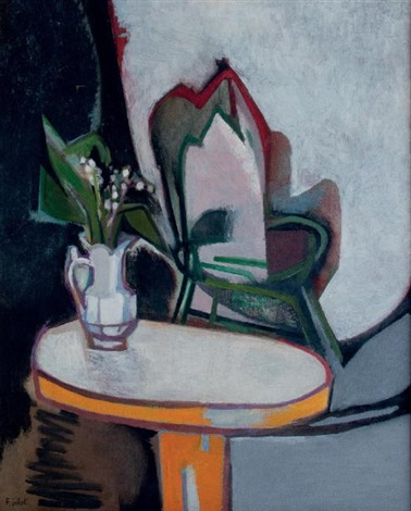 nature morte au muguet by françoise gilot