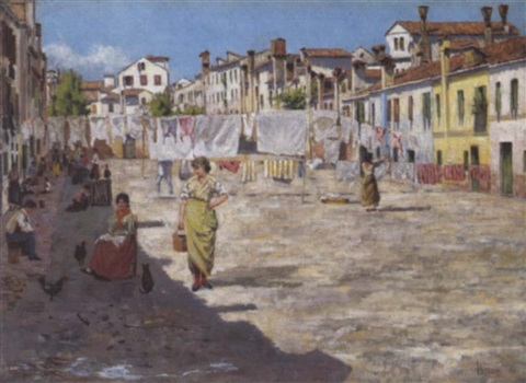 auf der insel burano by l rosa