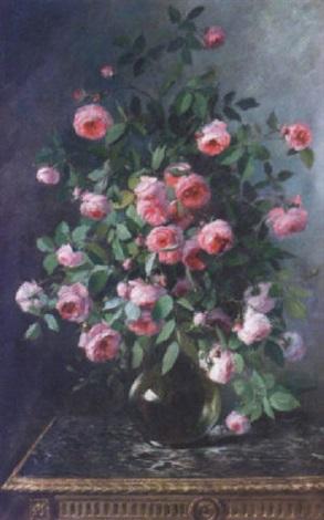 bouquet de roses by marie lucie cornelius