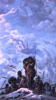 dragon of ishtar gate by roy krenkel