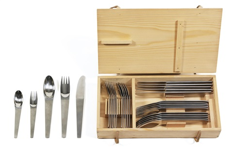 cutlery set model 2060 set of 30 by carl auböck