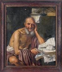le philosophe socrate by pietro bellotti